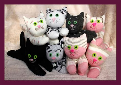 diy socks for cats diy sock cats and dogs tutorial make soft toys from