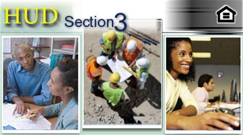 section 3 jobs section 3 economic opportunities hud