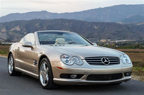 2003 Mercedes Sl500 For Sale by 2003 Mercedes Sl500 Roadster Goodman Reed Motorcars