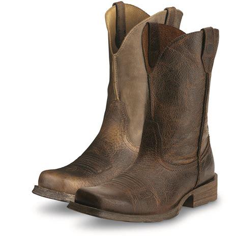 ariat s rambler boots ariat s rambler western boots 678940 cowboy