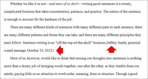 apa format quoting a person citing online sources in apa style for your references