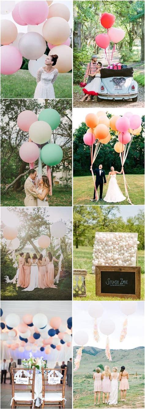 Wedding Balloons Ideas by 35 Balloon Wedding Ideas For Your Big Day Wedding