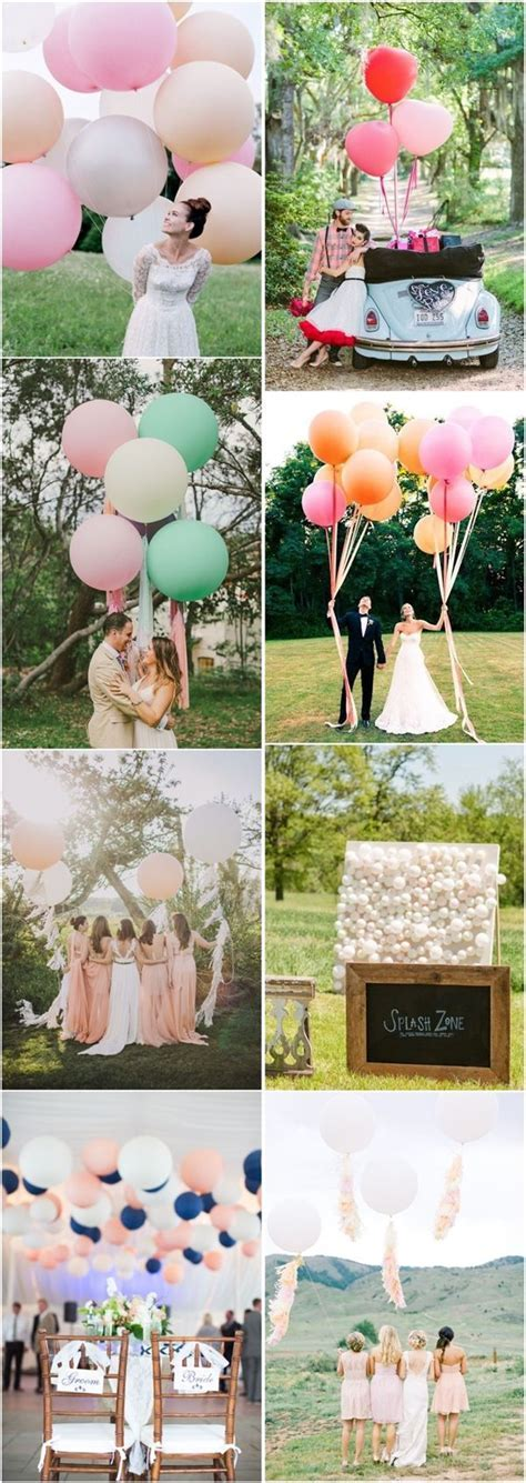 35 Giant Balloon Wedding Ideas For Your Big Day   Wedding