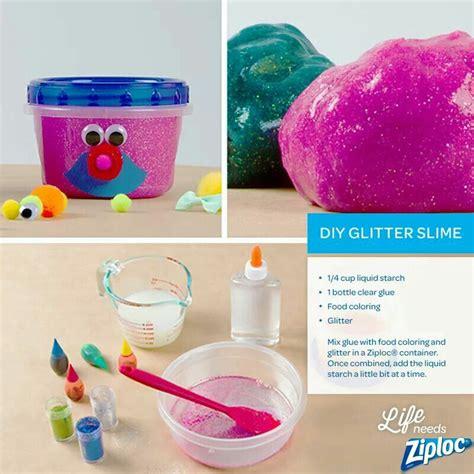 diy glitter slime diy glitter slime useful interesting