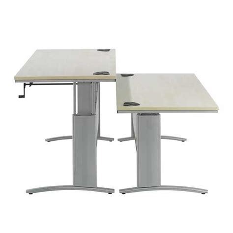 manual height adjustable desk height adjustable desk manual d3k height adjustable desk
