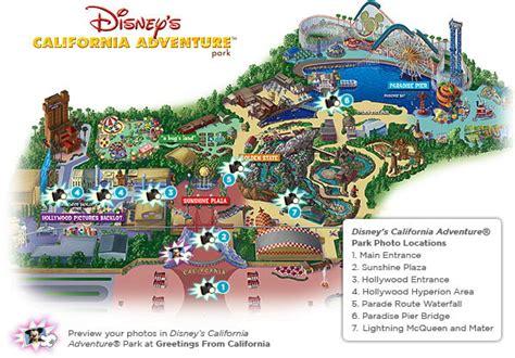 california adventure printable map disney california adventure map quotes