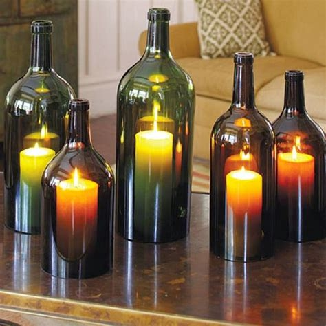 top 10 awesome things to make using empty wine bottles