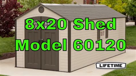 lifetime    storage shed  windows  youtube