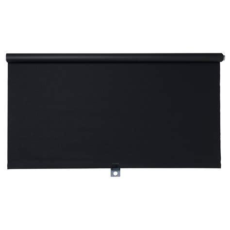 ikea window shades tupplur block out roller blind black 100x195 cm ikea