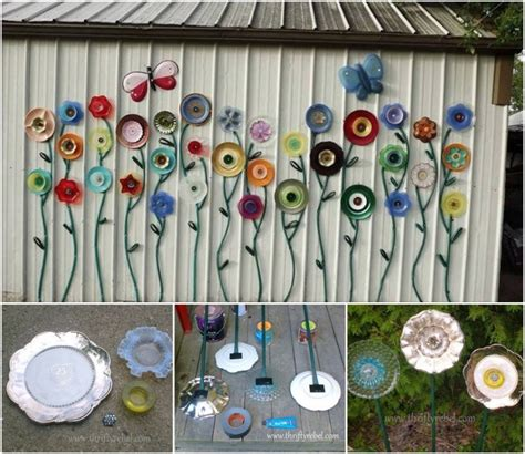 Garden Plate Flowers Recycle Reuse Repurpose Reclaim Rescue Etc On Tires Plastic Bottles And