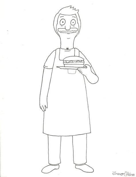 bob s burgers coloring book books bob belcher bob s burgers by trvieira on deviantart
