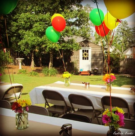 Backyard Graduation Ideas Backyard Graduation Party Graduation Party Ideas Pinterest