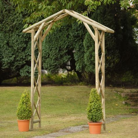 Lowe S Wedding Arch by The Process Of Adorning Your Garden With Wooden Garden