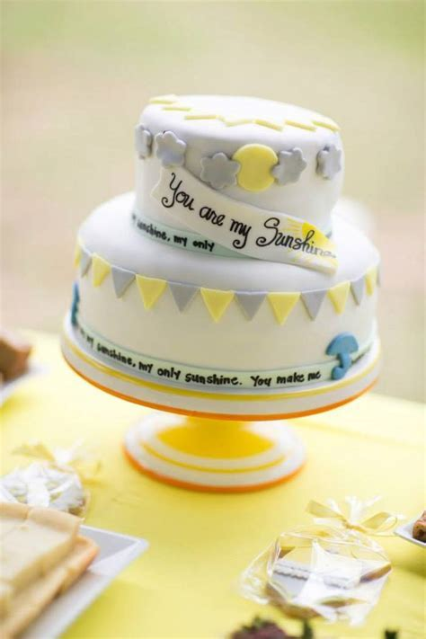 Kara's Party Ideas You Are My Sunshine Baby Shower