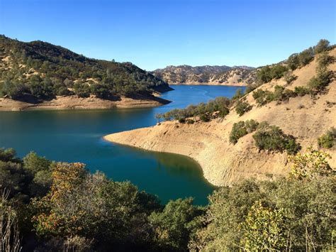 lake berryesa lake berryessa napa county california scary low water