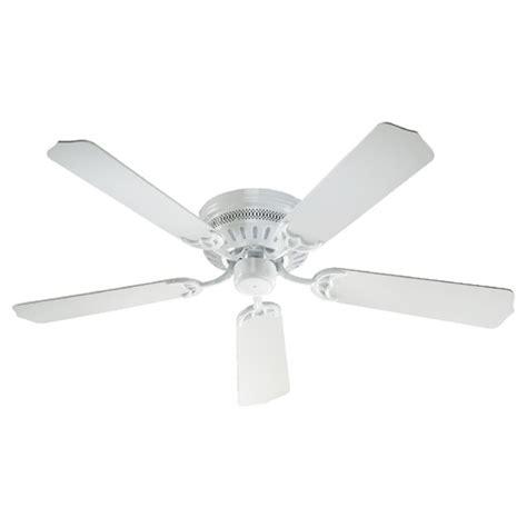Hugger Ceiling Fans Without Lights Quorum Lighting Hugger White Ceiling Fan Without Light 11525 6 Destination Lighting