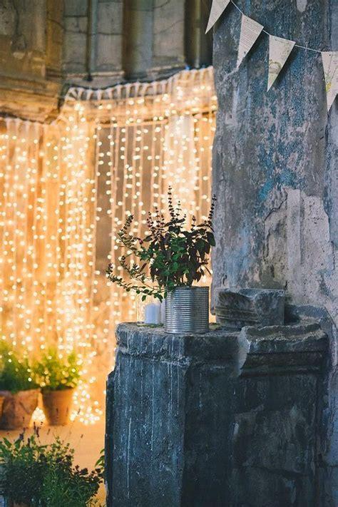 cortinas con luces iluminar con cortinas de luces partys pinterest