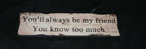 shabby chic wood sign youll    friend     ebay