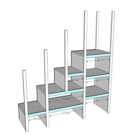 loft bed plans with stairs 25 best ideas about bunk bed plans on pinterest loft