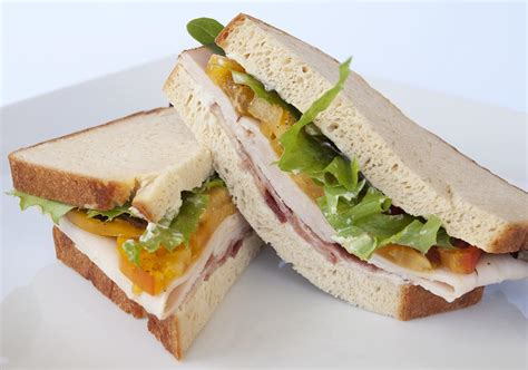 is a a sandwich cold turkey sandwich