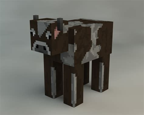 stron biz minecraft cow template