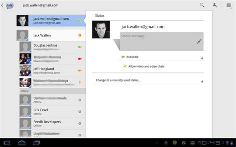 chat on android talk provides quality chat on android tablets techrepublic