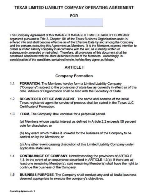Articles Of Organization Llc Template Texas Templates Resume Exles Jry4nz9gbe Llc Articles Of Organization Template
