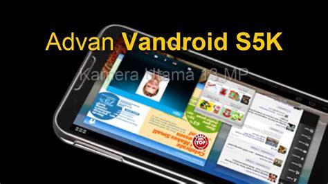 Tablet Advan Vandroid T2v advan vandroid s5 spesifikasi dan harga terbaru