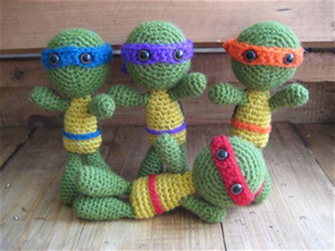 crochet pattern ninja turtles ravelry teenage mutant ninja turtles crochet pattern by