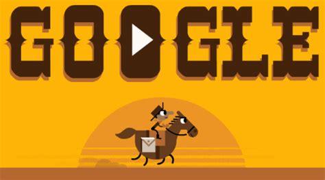 doodle zeitraum doodle 155 jahre pony express gwb