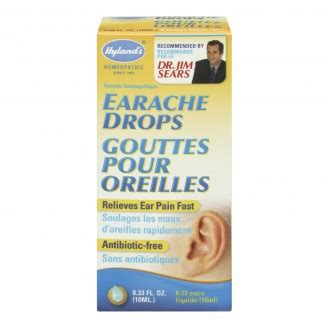 Ear Aches During A Detox by Buy Hyland S Earache Drops In Canada Free Shipping