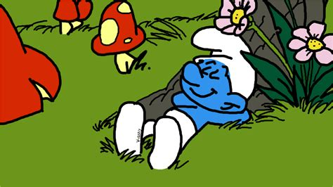 sleeping smurf 187 drawings 187 sketchport
