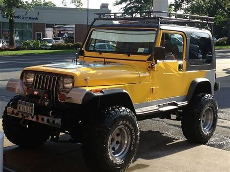 Roslyn Jeep Find Used 1993 Jeep Wrangler 4 0 Liter 6 Cylinder In