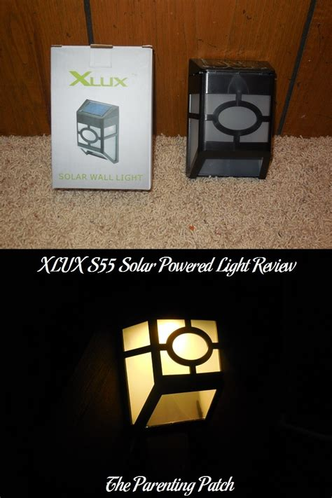 solar powered lights reviews xlux s55 solar powered light review parenting patch