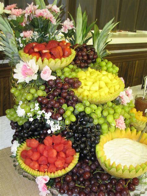 fruit centerpieces fruit centerpiece for shower puttin on the ritz