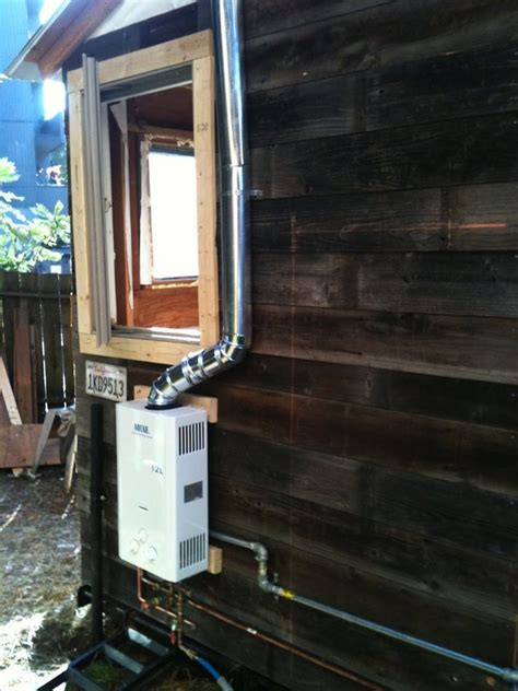 Diy Tiny House On A Trailer For 5 500 Tiny House Propane Heater