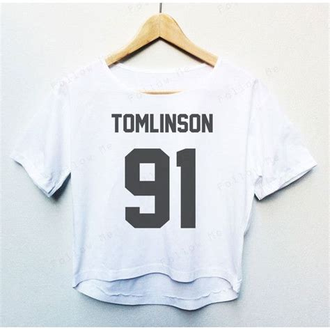 Louis Tomlinson T Shirt Kaos One Direction Tshirt 1d louis tomlinson one direction band tees crop top fashion t shirt 15 liked on polyvore