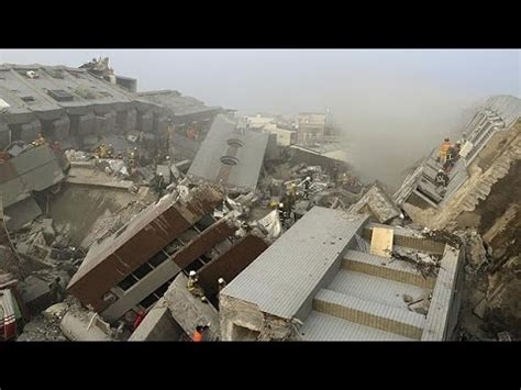 earthquake exle taiwan earthquake rescue youtube