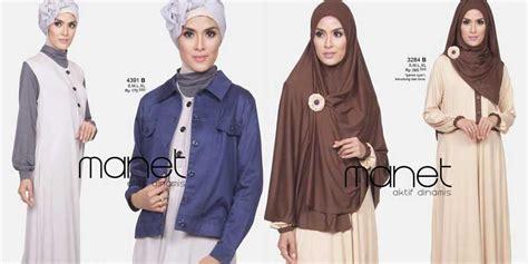 Muslim Wear Miss U Minoru baju muslim modern desain modis terpopuler 2018 bajubiz