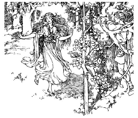 vintage coloring pages for adults deesse foret vintage adult coloring pages
