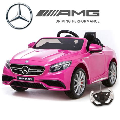 light pink mercedes buy electric cars childs battery powered ride on toys