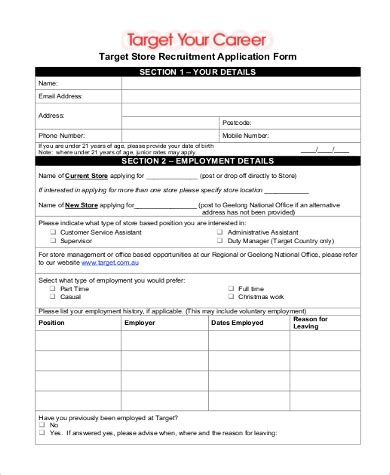 cover letter for target store sle target application 9 free documents in word pdf