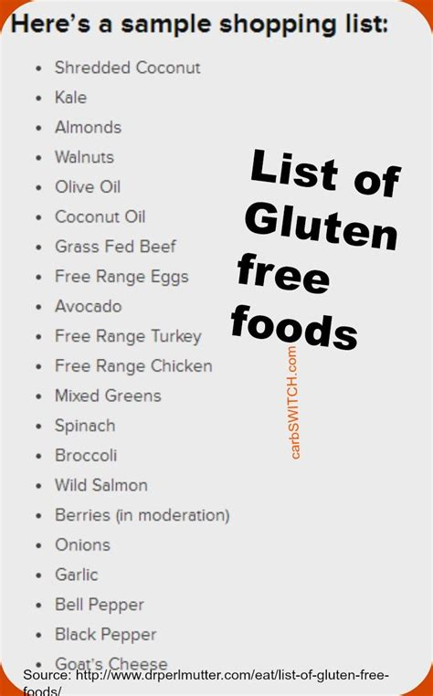 list of dishes 17 best ideas about free food on gluten free