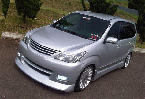 Mobil Indonesia Modifikasi by 99 Gambar Modifikasi Mobil Avanza Silver 2017 Modifikasi