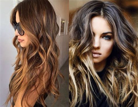 hairstyles with highlights images romantic valentines day long wavy hairstyles hairdrome com
