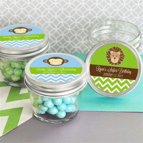 Jars For Baby Shower by Personalized Baby Shower Jars Baby Shower Mini