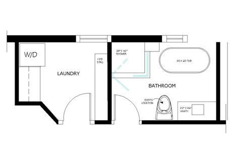 bath floor plans floor plan for 10 x 10 utility room closet remodeling