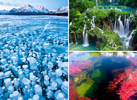 beautiful landscapes in the world water landscapes around the world showcase nature s beauty