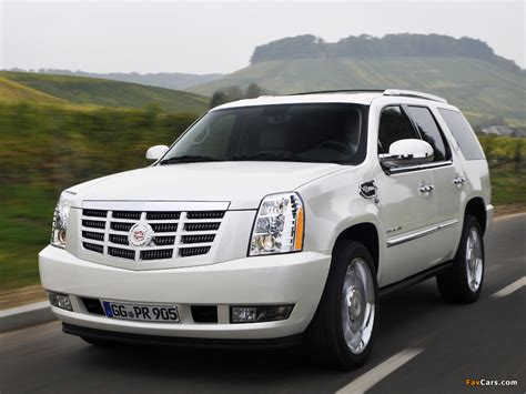 pictures x pictures of cadillac escalade hybrid eu spec 2009 1024x768
