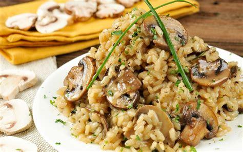 truffled mushroom risotto vegan gluten free one green planetone green planet